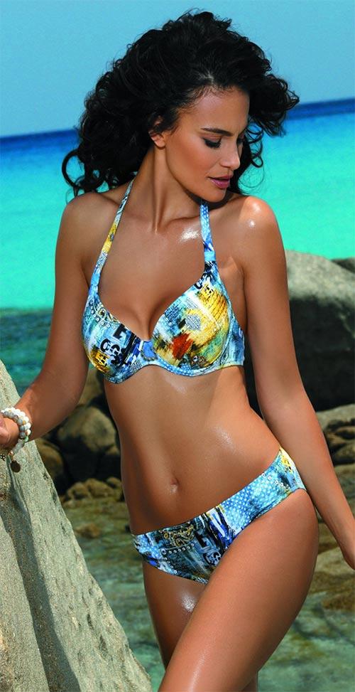 Dvoudílné plavky pro náročné ženy