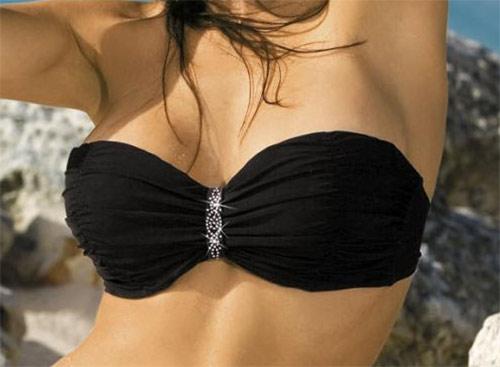 Luxusní černé plavky Eliza