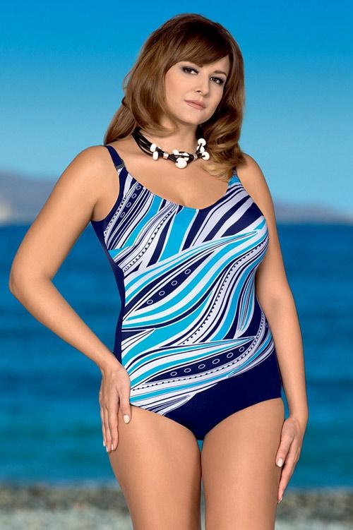 Jednodílné plavky pro plnoštíhlé Brenda