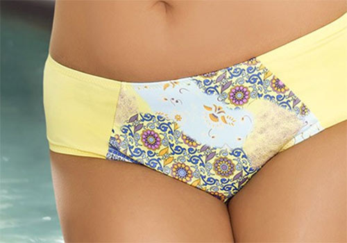 Dámské luxusní dvoudílné plavky Sun s etno vzorem
