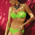 Zářivě zelené dvoudílné plavky Marko Eliza Smile
