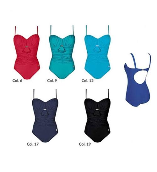 Jednodílné plavky v mnoha barevných varinatách