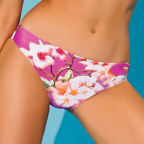 Zeštihlující plavkové kalhotky italské značky Volin