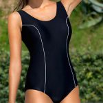 Sportovní jednodílné plavky Ewlon Malta i pro plnoštíhlé
