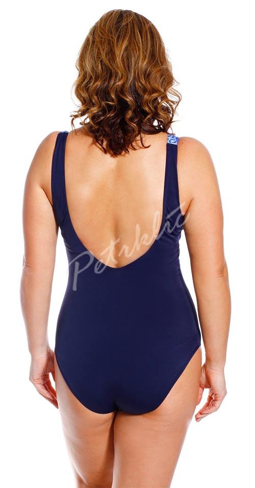 Jednodílné plavky s kosticí