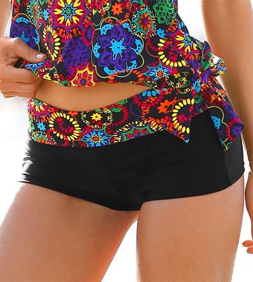 Další · Dámské plavkové boxerky s nastavitelným páskem 0a1496f5c9