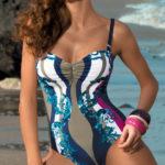 Jednodílné dámské plavky z kvalitní italské tkaniny