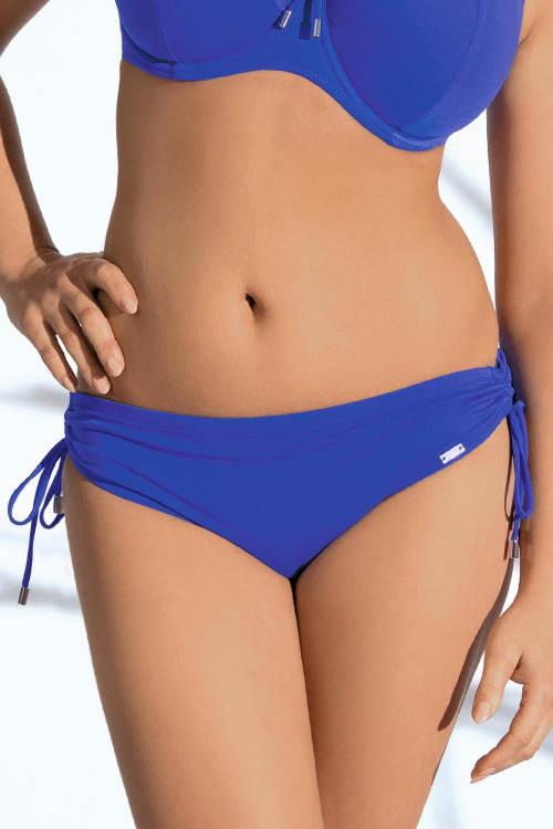Modré plavky s regulovatelnou výškou boků