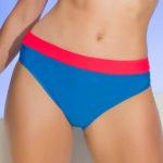 Modro-červené pastelové plavky