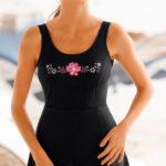 Jednodílné plavky se sukní