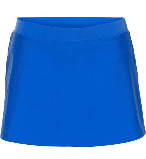 Modrá plavková sukně