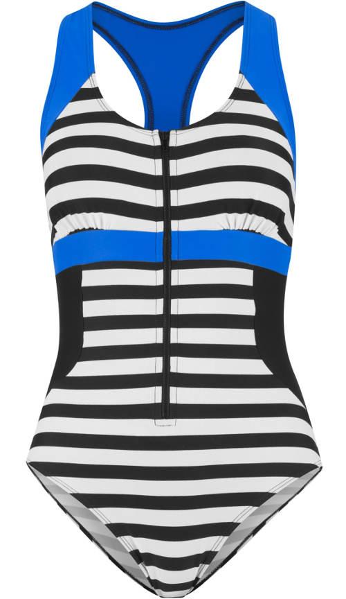 Jednodílné plavky s integrovanými měkkými košíčky