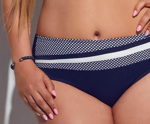 Modré plavkové kalhotky pro baculky