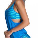 Plavky s volnou látkou přes bříško - ideální pro těhotné