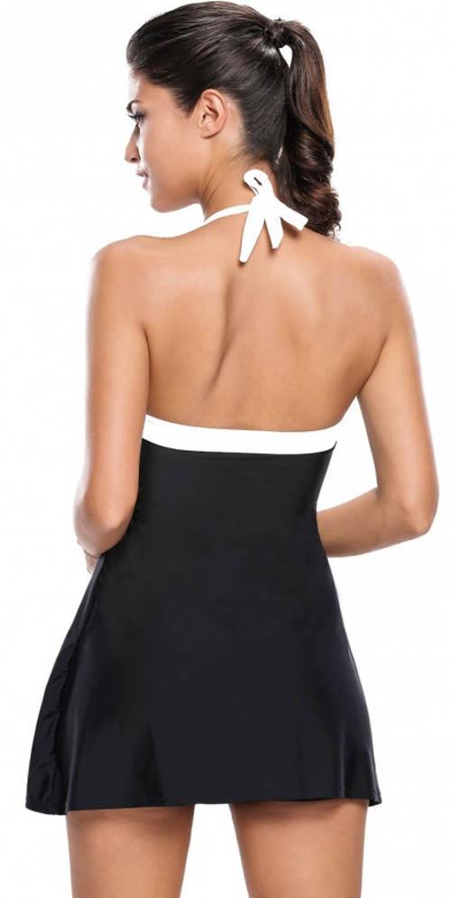 7ab06129a6ba Koupací dámské šaty s všitými kalhotkami