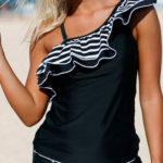 Dámské plavky se zavinovací sukní
