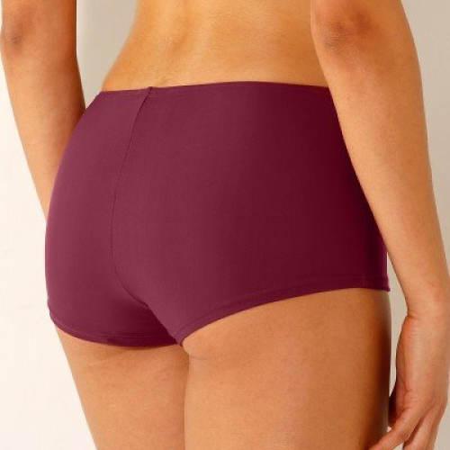 Fialové dámské plavkové boxerky