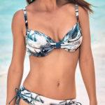 Luxusní dvoudílné plavky s variabilními kalhotkami