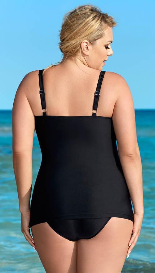 Maskující plavky k moři pro baculky