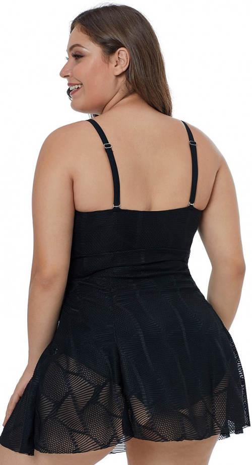 Plavky se sukní zakrývající zadek