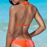 Dvoudílné plavky brazilky pro plnější tvary