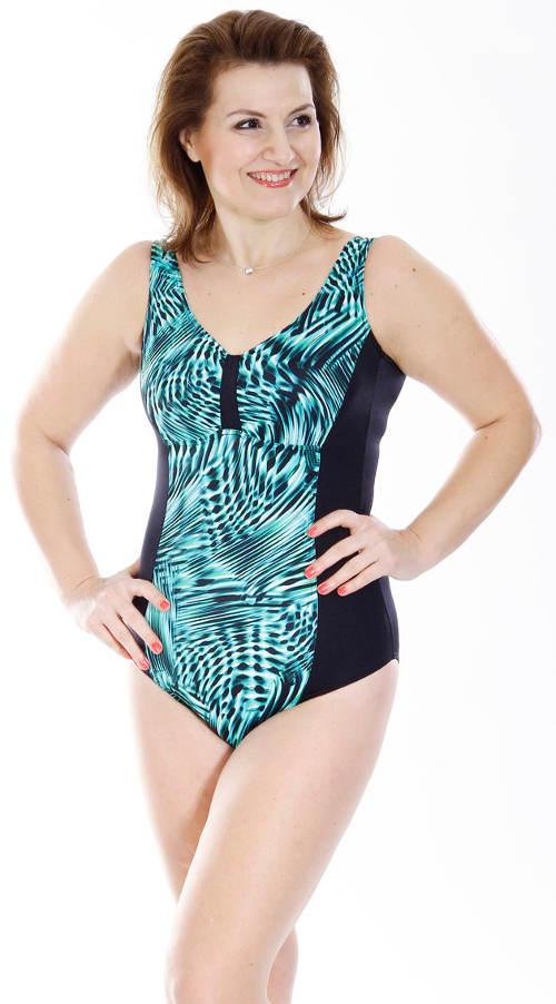 Jednodílné dámské plavky Petrklíč