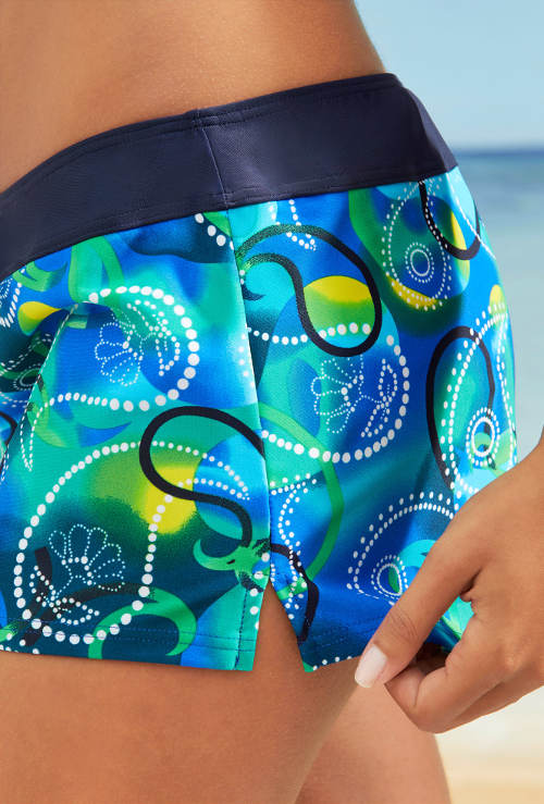 Kraťáskové plavky s veselým potiskem