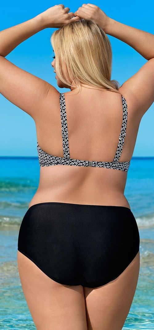Dvoudílné dámské plus size plavky