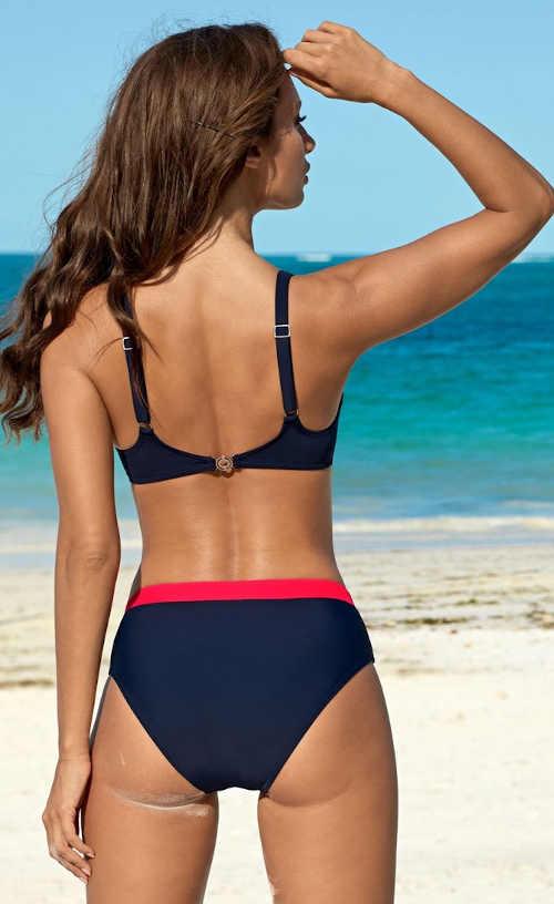 Dvoudílné dámské plavky pro větší poprsí