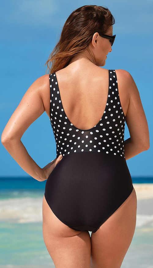 Rychleschnoucí jednodílné dámské plavky