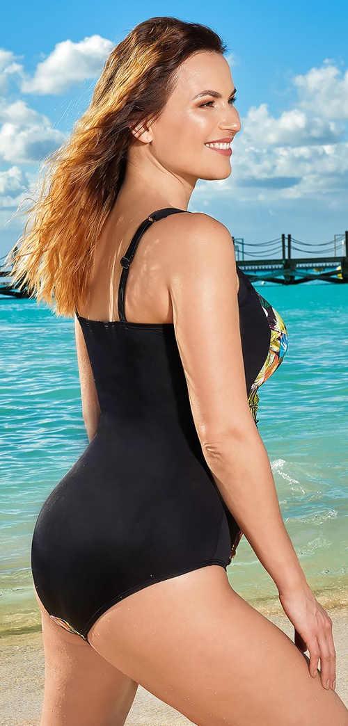 Pohodlné dámské jednodílné plavky k moři i do bazénu
