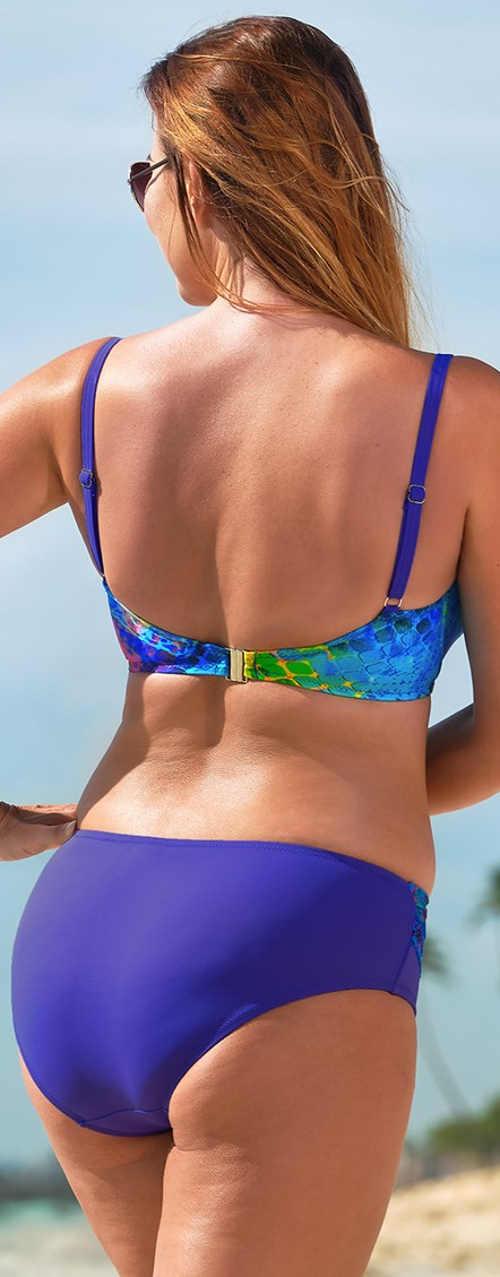 Rychleschnoucí dvoudílné plavky na dovolenou