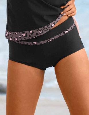 Zeštíhlující dámské plavkové boxerky Elmas