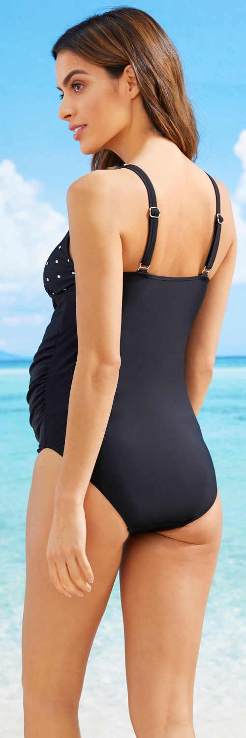 Jednodílné plavky pro těhotné Bonprix