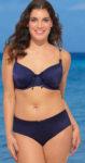 Lichotivé královsky modré dvoudílné plavky pro baculky
