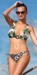 Oboustranné dámské dvoudílné plavky v moderním vzoru