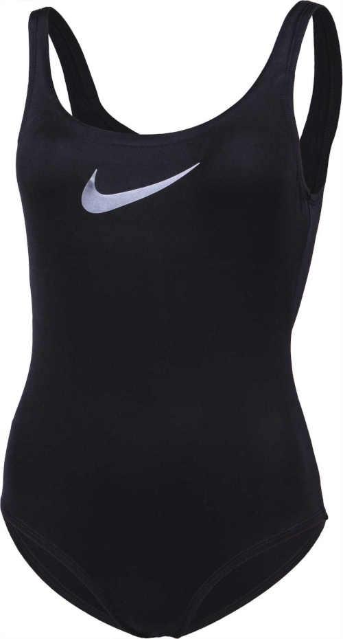 černé jednodílné plavky Nike
