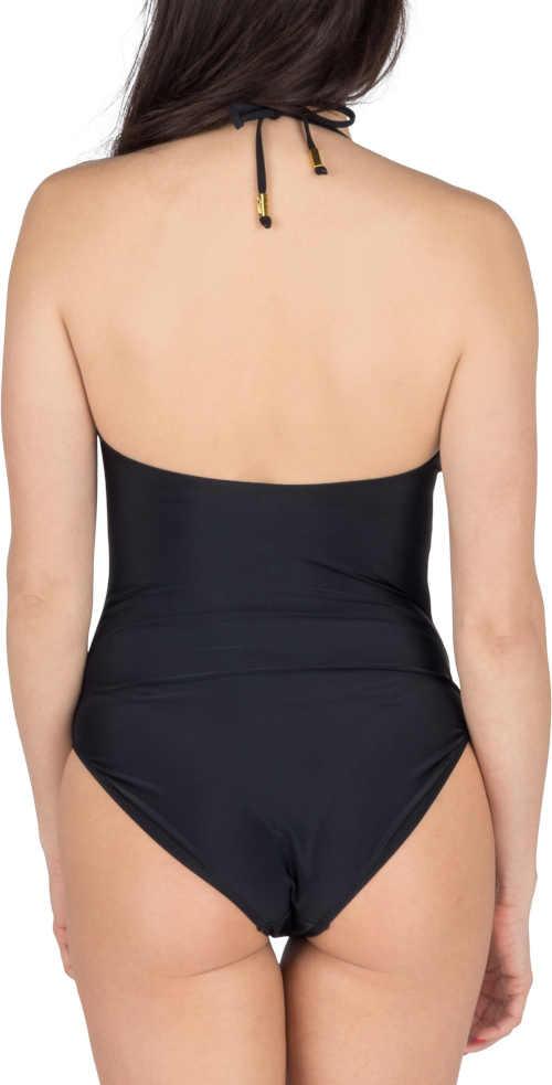 černé dámské plavky vcelku